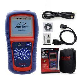 Wholesale Autel 419 - Wholesale- Top Quality Original Autel AutoLink AL419 OBD II & CAN Code Reader Auto Link AL 419 Update Online Auto Diagnosis Tool