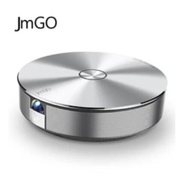 Wholesale Micro Video Projectors - JmGo G1 Bluetooth USB Video Support 4K Android Airplay For Smart Phone Wifi Micro DLP Mini PhonePortable Intelligent Projector