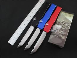 Wholesale Halo Model - 6 models Tanto Edge single action Tactical knife knives 150-10AP Custom 150-4 HALO V T E satin Plain knife