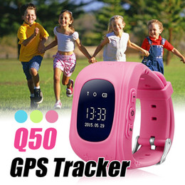 Wholesale Child Gps - Q50 Child Kid Smart Watches GPS Tracker SOS Safe Call Location Finder Locator Trackers Smartwatch for Kids Children Anti Lost Monitor
