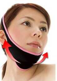 Wholesale Belt Lift - 1pc per lot Marketing Facial Slimming Bandage Belt Shape And Lift Reduce Double Chin Face Mask Face Thining Band for Women