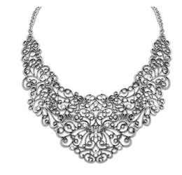 Wholesale Exaggerated Jewellery - Exaggerated Retro Hollow Carved Patterns and Designs Antique Silver Gold Black Choker Necklace Jewellery Accessories Mix