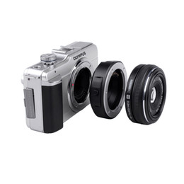 Wholesale Camera Adapter Lens - Viltrox JY-43F Auto Focus Lens Mount Adapter for Four Thirds 4 3 lens to Olympus Panasonic Micro 4 3 DSLR Camera E-PL3 GH4 G5