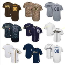 Wholesale 2017 Specialty Custom Personalized Baseball Jerseys Customized San Diego Padres jersey Any Name Number Men Women Kids Youth Stitched