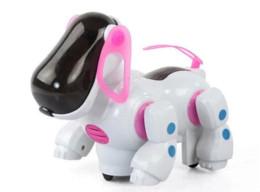 Wholesale Electronic Puppy - Amazing Robot Dog Lovely Music Shine Intelligent Electronic Robot Walking Dog Puppy Action Toy Pet Kids Baby with Music Light