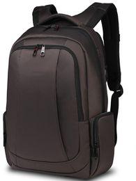 Wholesale Animal Fasion - 2017 Laptop Backpack Waterproof Anti-theft Bag 13 15.6inch Notebook Computer Rucksack School Backpack for Men Women Teenagers Black Coffee