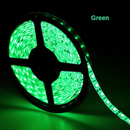 Wholesale Christams Decorations - Bright 5m 5630 SMD 60led m LED Strip Light Non-waterproof Red Green Blue 12v led Outdoor Tape Ribbon Christams Decoration Led Light