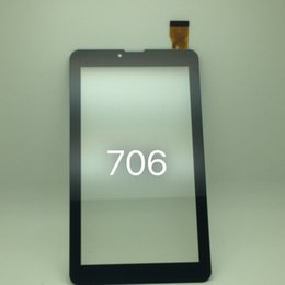 Wholesale Display Replacement Tablet - For 7 Inch MTK6572 MTK6582 706 3G 2G Phone Call Tablet Touch Screen touchscreen Display Glass Digitizer Digitiser Panel Replacement MQ50