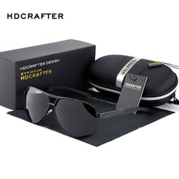 Wholesale Wholesale Frameless Mirrors - Wholesale-HOT 2016 Fashion Men's UV400 sunglasses mirror Eyewear Sun glasses for men with case box