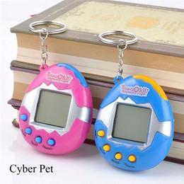 Wholesale Cheap Xmas Toys - 50pcs Virtual Cyber Digital Pets Tamagotchi Electronic Digital E-pet Retro Funny Tamagochi Toy Game Gift For Children Hot Cheap Xmas Gift