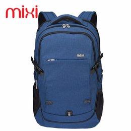 Wholesale Mini Pocket Notebook - Wholesale- Mixi Brand Laptop Backpack Men Notebook Computer Backpacks Large Capacity 35L Women Men Travel School Backpack