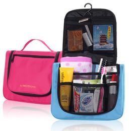 Wholesale Wholesale Cloth Patchwork Bags - Travel Mate Bag Cosmetic Bags Storage Pouch Travel Cosmetic Bag Organizer Handbag Oxford cloth Dual Zipper Makeup Bags TA142