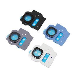 telefones celulares importados Desconto 10 pcs original novo para samsung galaxy s8 e s8 além de lente da câmera de vidro e painel de vidro, prata azul cinza preto