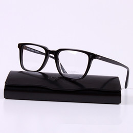 Wholesale Eyeglass Cases For Men - Vintage Optical Glasses Frame Oliver Peoples 5031 Brand Designer Plank Frame Eyeglasses for Women and Men Round Myopia Frames with Case