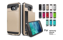Wholesale Military Tough Case Cover - For iphone 7 plus Case Tough Armor Samsung S7 cases Verge Military Grade Protection Slim Fit Cover for iphone samsung LG Sony MOTO