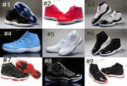 Wholesale Mens Leather Army Boots - Wholesale Retro (11)XI Basketball Shoes Athletics Boots Leather Mens Women Sports Shoes Retro J11 Trainers Retro Sneakers Cheap