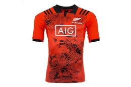 Wholesale Team Edition - 2017 New Zealand all black team away Rugby Jersey Shirts Special Edition The pre-sale Top quality S-3XL