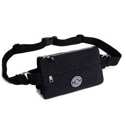 Wholesale Army Belt Pouch - Wholesale- Women's Travel Waist Messenger Bags Pochete Casual Crossbody Bags Pack Tote Chest Packs Belt Zip Pouch Bum Pest Shoulder Bags