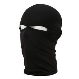 Wholesale Full Ski Mask - 2017 Hot Sale Motorcycle Cycling Outdoor Balaclava Ski Full Face Mask Cover Hat Head Hood Uv Sun Wind Dust Protector 12 Color