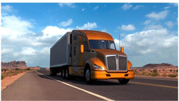 Wholesale Internet Games - American Truck Simulator v1.2.1.1s simplified Chinese and English version of PC single computer game software download