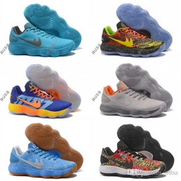 Wholesale Sport Shoes Discount China - Discount Basketball Shoes Hyperdunk Men Low Cut Red 2017 Man Air Zoom Hyperdunks Shoe Chaussure Homme China Brand Authentic Sport Sneakers