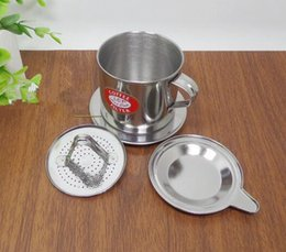 Wholesale Pot Strainer - Stainless Steel Vietnamese Drip Coffee Filter Maker Pot Infuser