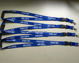 Wholesale Wholesale Silk Screen Printing - New Arrive custom dark blue flat lanyard with white logo silk screen printed 15mmx90cm neck lanyard lobster hook cheap strap