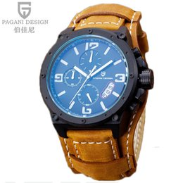Wholesale Diver Watch Army - Watches men top pagani design brand luxury Military Army Digital Watch Male Sport Clock Relogio Masculino q4201