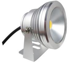 Rohs luci subacquee led online-LED Subacqueo a LED 10W AC 110v 220v DC 12 V Acquario Fontana Lampada per piscina IP68 Impermeabile Wash Spot luce Caldo / freddo luci bianche