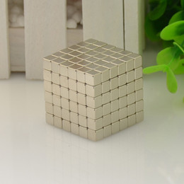 Wholesale Wholesale Magnetic Balls 5mm - 3mm 4mm 5mm Size 216pcs Cube Magnetic Balls 6*6*6 Grade N35 Neodymium Cubo Magico Magnet Puzzle Educational Toy Metaballs gifts
