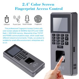 Wholesale Digital Fingerprint Lock - Biometric Fingerprint Lock Access Control Digital RFID Reader Scanner Sensor For Door Lock Time Attendance Machine Terminal USB