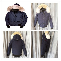 Wholesale Men Jacket Dhl - Top Version Coyote Fur DHL Free Shipping men Goose Down jacket Feather Overcoat Winter thick down parka men jacket white collar cap