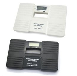 Wholesale Electronic Personal Scale - Wholesale-Multipurpose LCD Display Potable Personal Digital Bathroom Body Scales Electronic Health Body Weight Scale