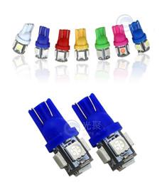 T10 5050 5SMD LED di alta qualità per auto auto moto luci di lettura luce luce targa luce da luce blu per le piante ha condotto fornitori