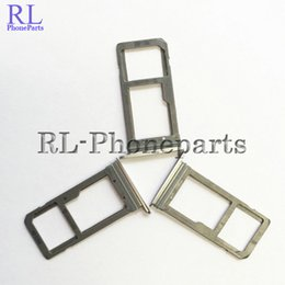 Wholesale Parts Trays - 10pcs lot NEW New Sim Micro SD Memory Card Tray Holde For Samsung Galaxy S7 G930F S7 edge G935F Replacement Parts (silver black gold)