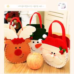 Tasche libri online-Natale sacchetti di caramelle libro titolare tasche borsa regalo Natale decorazione della casa ornamento forniture creativo regalo sacchetto di Natale