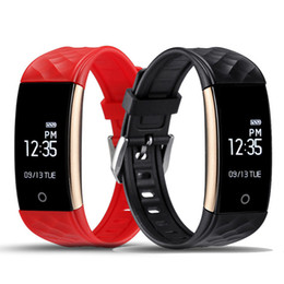 Wholesale Apple Pedometer - Original S2 Smart Band Wristband Bracelet Heart Rate Pedometer Sleep Fitness Tracker Bluetooth 4.0 IP67 Waterproof Smartband TW64 Watch