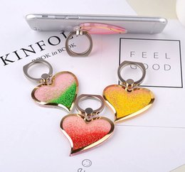Wholesale Ring X Shape - 360 Degree Finger Ring Mobile Phone Smartphone Stand Holder For iPhone x 8 7 6 Samsung Xiaomi Haiwei heart shape ring stand