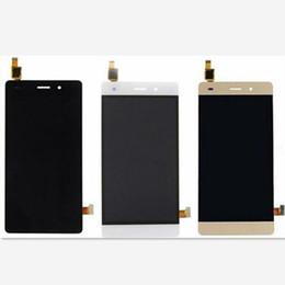 Para Huawei P8 Lite original nueva pantalla LCD de pantalla táctil digitalizador de repuesto blanco oro negro envío rápido desde fabricantes