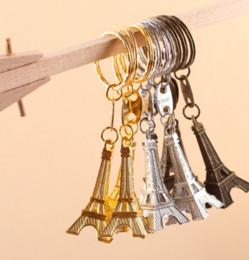 Wholesale Eiffel Tour - Wholesale- 30PC Torre Eiffel Tower Keychain Key Souvenirs, Paris Tour Eiffel Keychain Rustic Wedding Gifts for Guests Wedding Centerpieces
