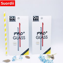 Wholesale Product White Paper - Wholesale New Product Package For Cell Phone Tempered Glass Screen Packing Box Retail Protective Paper packaging Boxes