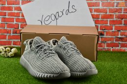 Wholesale White Pirate Top - Top Quality Boost 350 Pirate Black Turtle Dove Moonrock Oxford Tan Men Women Running Shoes Kanye West 350 Boosts Shoes With Box 36-46