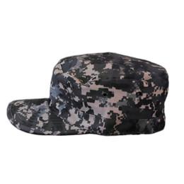 Wholesale Cheap Wholesale Camo Hats - HOT New Unisex Men Women Camo Camouflage Patrol Hat Army Caps Gorras Snapback Baseball Cap Trucker casquette Cheap Z1
