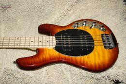 Wholesale Bass Guitar Stingray - Bass Guitar Newest Honey Burst StingRay 5 music man Electric Bass High Quality HOT