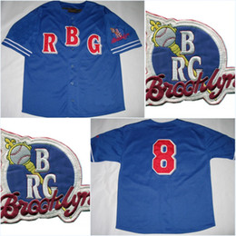 Wholesale Men s Brooklyn Royal NLBM Jersey xl Official NLBM Apparel Negro League baseball Throwback Stitched Embroidery Logos Baseball Jerseys
