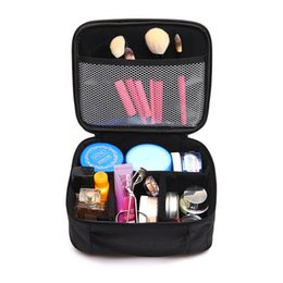 Wholesale Make Up Bag Big - Wholesale- 2017 Big Professional Cosmetic Bag Women Travel Makeup Case Beauty Necessaries Make Up Bag Women Organizer Storage Toiletry Bags