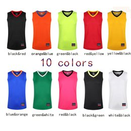 Wholesale V Neck Tank Tops - Men's XL-7XL and 10 colors Basketball Jersey Training Shirt Moisturizing Wrapping Sports Wear Sleeveless Tank Top