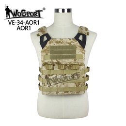 Argentina WoSporT Tactical JPC Chaleco Pecho Rig Jumper Nylon MOLLE Gear para Airsoft deportes Paintball Combate Caza Tiro Suministro