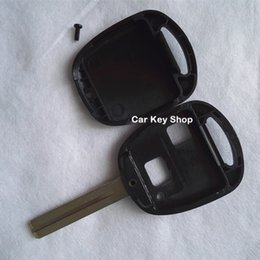 Wholesale Case Toyota Keys - Replacement Key Case For Toyota Remote key Shell 2 Buttons TOY48 Short No Logo