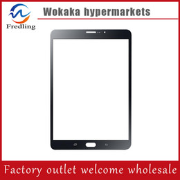 Wholesale Galaxy S Lte - For Samsung Galaxy Tab S LTE 8.4 SM-T705 T705 Replacement Touch Screen Digitizer White Black Free dhl